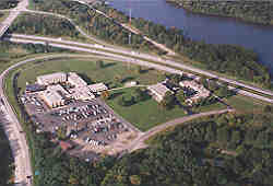 Aerial view of the Training Academy
