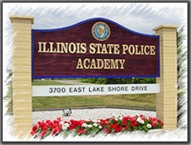 Illinois State Police Academy Sign