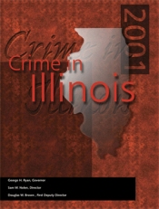 Crime in Illinois 2001 Cover